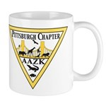 Pittsburgh AAZK Chapter Logo Mugs