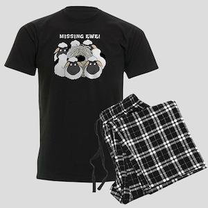 MissingEweCard3 Men's Dark Pajamas