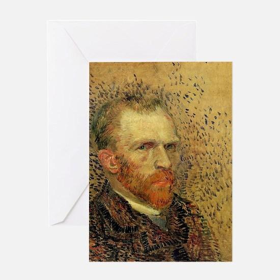 Van Gogh Self Portrait Greeting Card