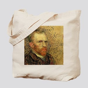Van Gogh Self Portrait Tote Bag