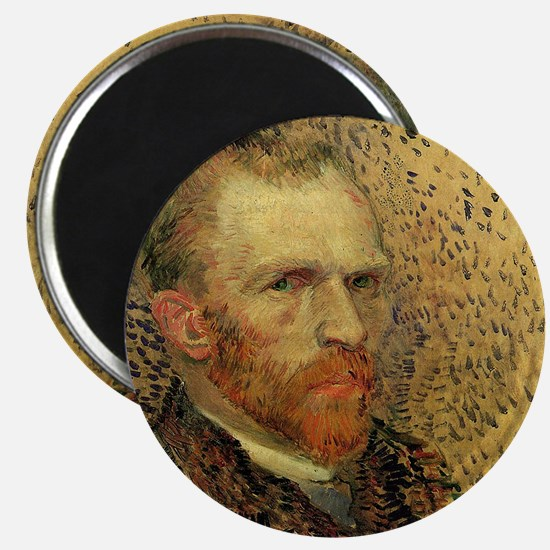 Van Gogh Self Portrait Magnet