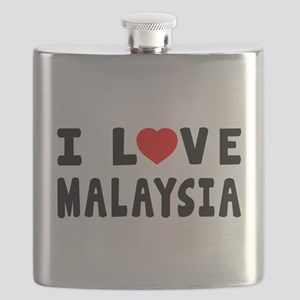 I Love Malaysia Flask