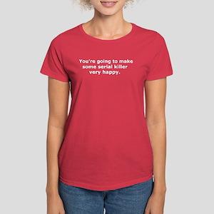 Serial Killer Women's Red T-Shirt