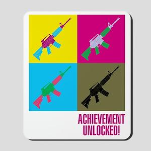 Achievement unlocked! Mousepad
