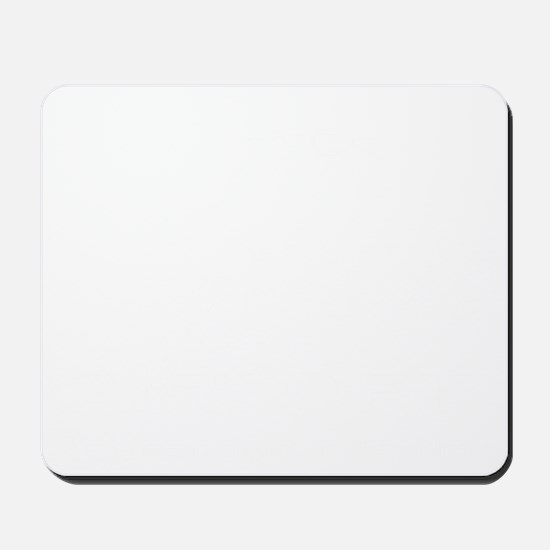 your doing it wrong - white Mousepad
