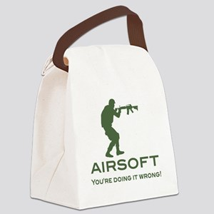 your doing it wrong - OD Canvas Lunch Bag