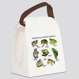 Tree Frogs of North America Canvas Lunch Bag