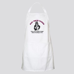 Pay Your Taxes BBQ Apron
