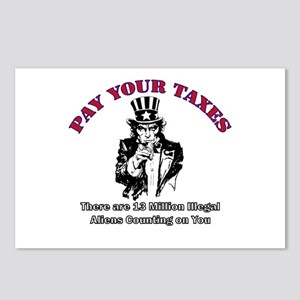 Pay Your Taxes Postcards (Package of 8)