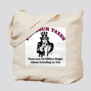 Pay Your Taxes Tote Bag