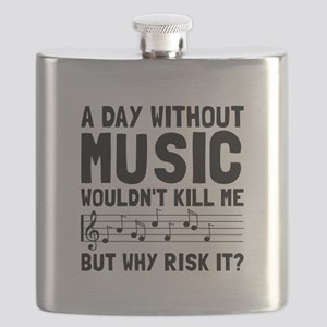 Risk It Music Flask