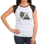 Bad Boss Bull's Eye Women's Cap Sleeve T-Shirt
