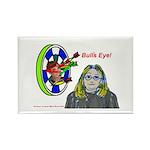 Bad Boss Bull's Eye Rectangle Magnet (10 pack)