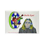Bad Boss Bull's Eye Rectangle Magnet (100 pack)