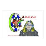 Bad Boss Bull's Eye Postcards (Package of 8)