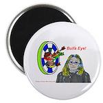 Bad Boss Bull's Eye Magnet