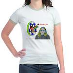 Bad Boss Bull's Eye Jr. Ringer T-Shirt