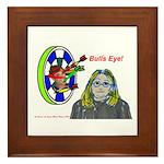 Bad Boss Bull's Eye Framed Tile