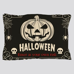 Funny Halloween Pillow Case