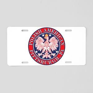 Pittsburgh Pennsylvania Polish Aluminum License Pl