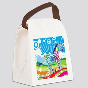 showercurtain47 Canvas Lunch Bag