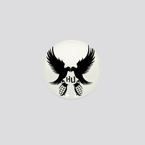 Dove and Grenade Hollywood Undead Mini Button