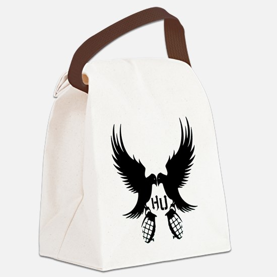Dove and Grenade Hollywood Undead Canvas Lunch Bag