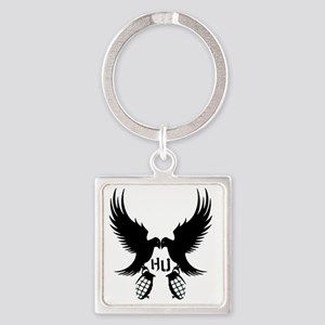 Dove and Grenade Hollywood Undead Square Keychain
