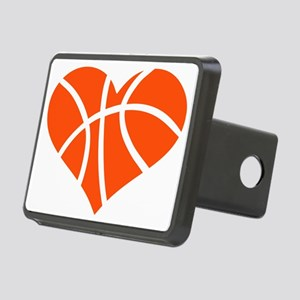 basketball_heart_OL Rectangular Hitch Cover