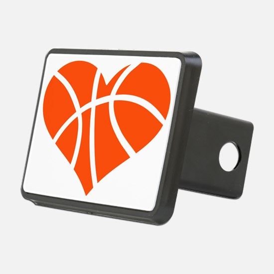 basketball_heart_OL Hitch Cover