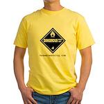 Wet Danger Yellow T-Shirt