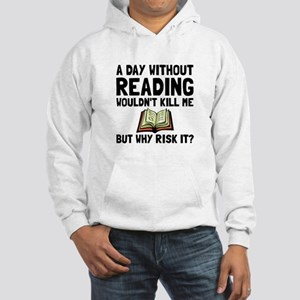 Risk It Reading Hoodie