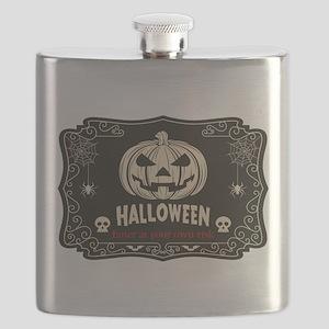 Funny Halloween Flask