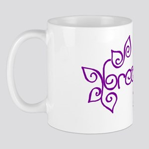 breathe yoga wellness Mug