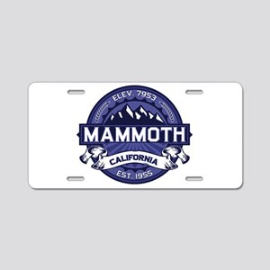 Mammoth Midnight Aluminum License Plate