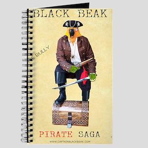 Brave Bully Black Beak Poster Journal