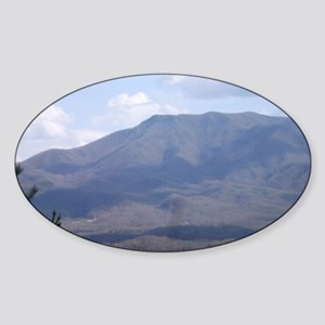 Smokey Mountains Sticker (Oval)