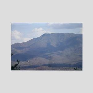 Smokey Mountains Rectangle Magnet