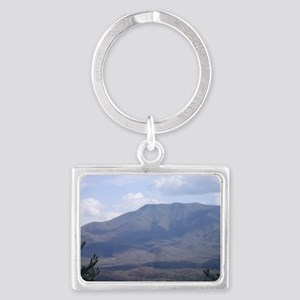 Smokey Mountains Landscape Keychain