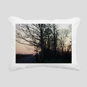 Sunset Rectangular Canvas Pillow