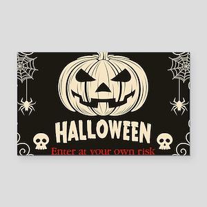 Funny Halloween Rectangle Car Magnet