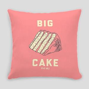 Phi Mu Big Cake Everyday Pillow