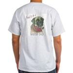 Proud to be a Mastiff Dad Ash Grey T-Shirt
