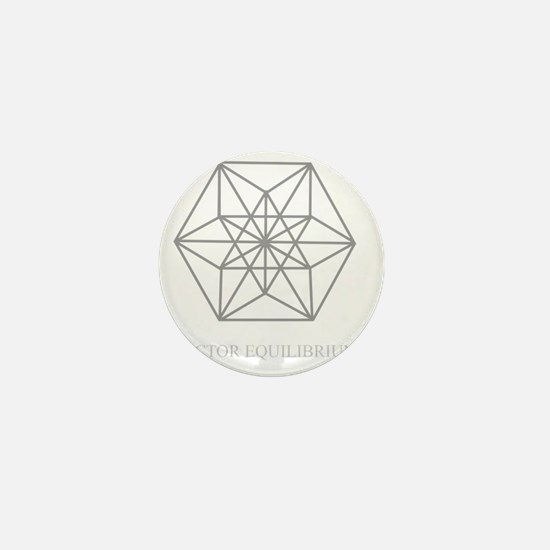 vector equilibrium Mini Button