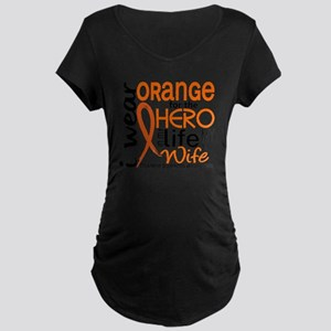 D Wife Maternity Dark T-Shirt