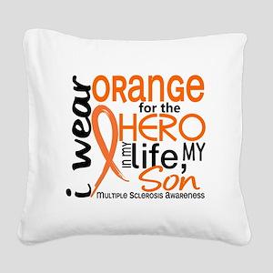 D Son Square Canvas Pillow
