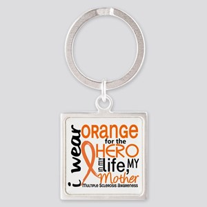 D Mother Square Keychain
