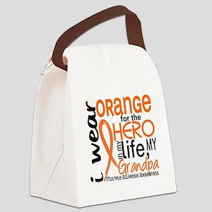 D Grandpa Canvas Lunch Bag