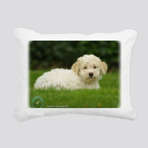 Lagotto Romagnollo 8T19D Rectangular Canvas Pillow