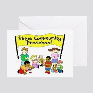 Ridge Community Preschool Greeting Card